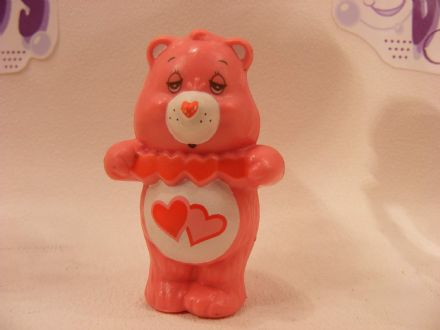 VINTAGE LOVE-A-LOT CARE BEARS MINIATURE (1)